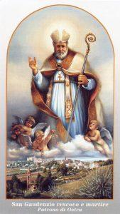 San Gaudenzio: vescovo martire di Ostra (AN)